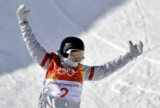 Kelly Clark has competed in every Olympic women's halfpipe competition except the first. (AP Photo/Gregory Bull)