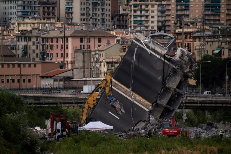 The disaster has sparked a fierce debate over the state of Italy's infrastructure