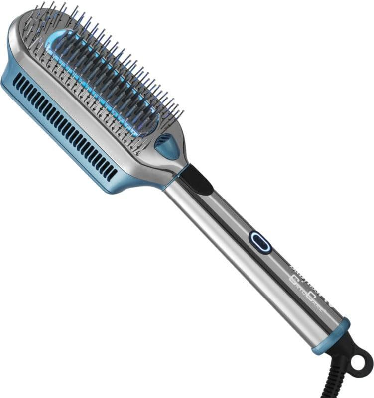 <p>The <span>BaBylissPRO CryoCare The ColdBrush</span> ($190) uses cold therapy to infuse moisture, create shine, and reduce frizz. It's truly a unique tool.</p>