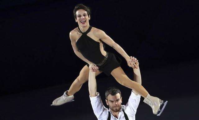 Figure Skating - Pyeongchang 2018 Winter Olympics - Gala Exhibition - Gangneung Ice Arena - Gangneung, South Korea - February 25, 2018 - Meagan Duhamel and Eric Radford of Canada perform. REUTERS/Lucy Nicholson