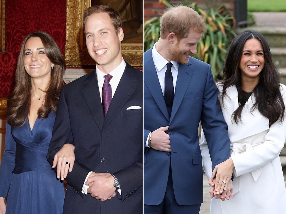 <p>For a number of reasons, Harry and Meghan's moment seemed a lot more relaxed. Of course, unlike William, Harry is not first in line to the throne and has therefore always had more freedom – and even has the option to forego a public wedding. For this reason, along with Meghan's experience with the press, the outdoor setting and the couple's maturity, the whole affair seemed much more relaxed than when William and Kate got engaged. We will just have to wait and see if the wedding will follow suit.</p>