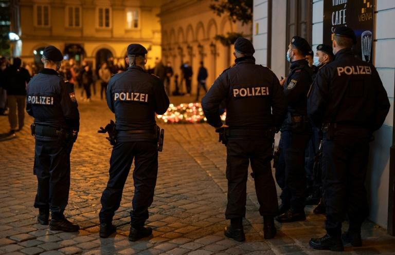 Security has been stepped up in Vienna after Monday's deadly shooting