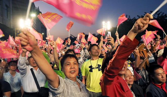The people of Taiwan will go to the polls on Saturday. Photo: EPA-EFE