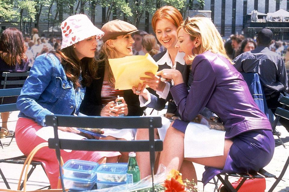 "<p>Revolutionary for its time, I couldn't help but wonder... <em>could this list ever include Sex and the City outside of the top five</em>? That's a hard no. The adventures of Carrie, Samantha, Miranda, and Charlotte defined a generation and set up the idea that a show about women could be just a risqué as anything else on television.</p><p><a class=""link rapid-noclick-resp"" href=""https://play.hbonow.com/series/urn:hbo:series:GVU2cAAPSJoNJjhsJATt6?camp=Search&play=true"" rel=""nofollow noopener"" target=""_blank"" data-ylk=""slk:Watch Now"">Watch Now</a></p>"