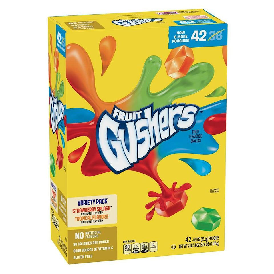 <p>These fruit-flavored gummies were in every kid's lunch box (and the sour juice was all over my fingers).</p>