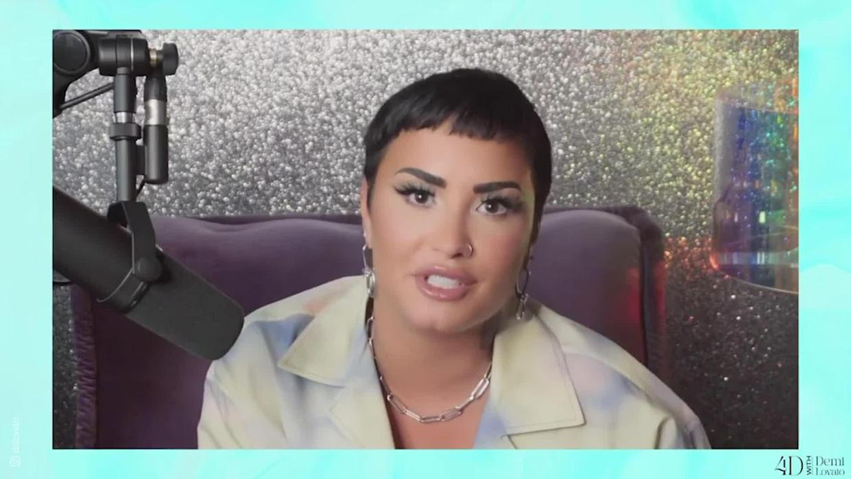 <p>Singer Demi Lovato has shared with their fans that they identify as non-binary and will now be using the pronouns they/them.</p>