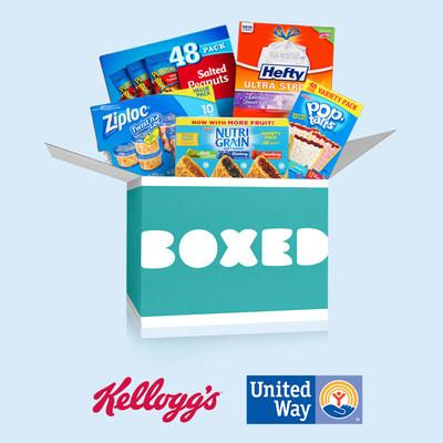 People can visit boxed.com/betterdays and shop bulk groceries and other supplies that United Way of the Midlands to support the needs of families still impacted by the devastating floods that hit the community earlier this year.