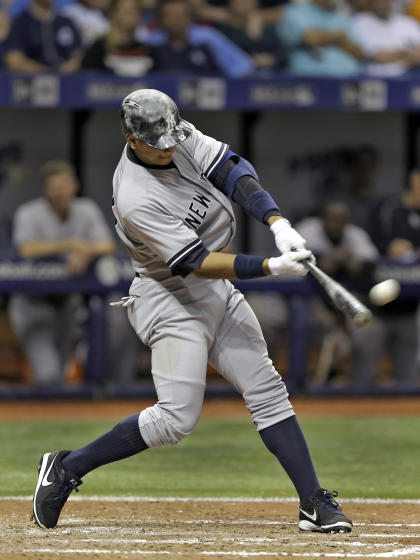 Alex Rodriguez is two homers shy of tying Willie Mays' all-time mark of 660. (AP)