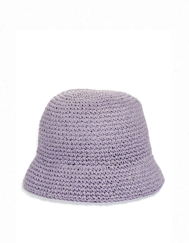 """For the love of lavender, snag this cute bucket hat from Kate Spade, throw on your favorite overalls, and revel in the <a href=""""https://www.glamour.com/story/how-to-dress-90s?mbid=synd_yahoo_rss"""" rel=""""nofollow noopener"""" target=""""_blank"""" data-ylk=""""slk:'90s energy"""" class=""""link rapid-noclick-resp"""">'90s energy</a>. $78, Nordstrom. <a href=""""https://shop.nordstrom.com/s/kate-spade-new-york-metallic-crochet-bucket-hat/5462411"""" rel=""""nofollow noopener"""" target=""""_blank"""" data-ylk=""""slk:Get it now!"""" class=""""link rapid-noclick-resp"""">Get it now!</a>"""