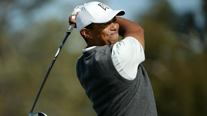 947876d777c99 Tiger Woods eight back in 2019 debut as Rahm leads Farmers Insurance Open