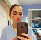 """<p>Nurses and other healthcare professionals across the world are in need of more protective gear and are going on social media to show how dire the situation has become. Hundreds of images sprouted on Instagram with medical professionals showing their bruised faces from using the same masks for hours and sometimes days on end. Nurses like <a href=""""https://www.instagram.com/alessiabonari_/?hl=en"""" rel=""""nofollow noopener"""" target=""""_blank"""" data-ylk=""""slk:Alessia Bonari"""" class=""""link rapid-noclick-resp"""">Alessia Bonari </a>from Tuscany, Italy were the first to raise this issue that has prompted fashion designers and others to begin assembling masks, face shields and gowns to make sure our healthcare workers are protected. </p>"""