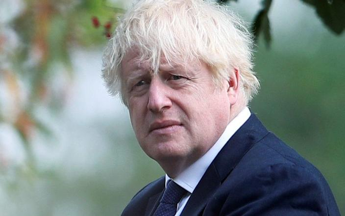 FILE PHOTO: Britain's Prime Minister Boris Johnson attends the VJ Day National Remembrance event, held at the National Memorial Arboretum in Staffordshire, Britain August 15, 2020. REUTERS/Molly Darlington/Pool/File Photo - Molly Darlington/REUTERS