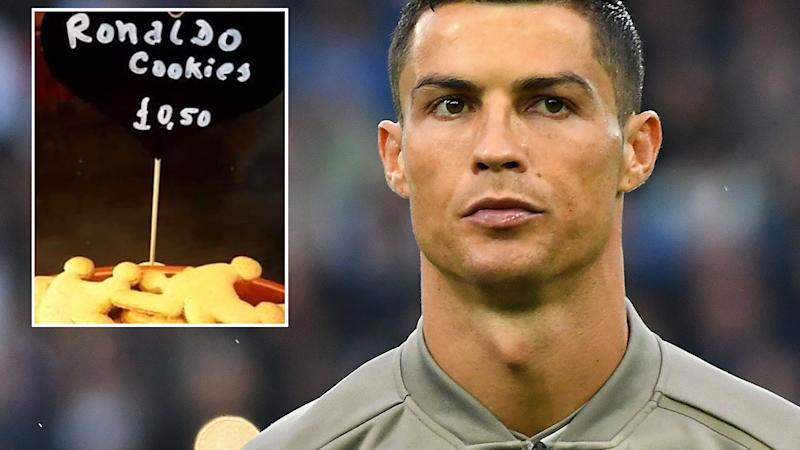 Rape-accused Ronaldo sex biscuits sold in Worcester cafe