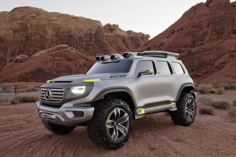 Mercedes-Benz might expand its crossover family with a shrunken G-Class