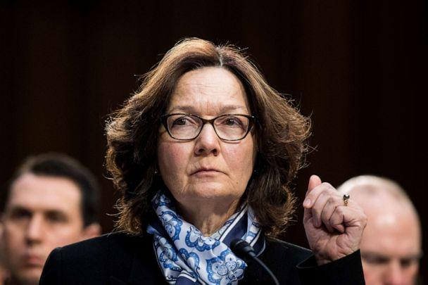 PHOTO: Gina Haspel, director of the Central Intelligence Agency, testifies during the Senate Select Intelligence Committee hearing on 'Worldwide Threats,' Jan. 29, 2018. (Bill Clark/CQ Roll Call via AP Images)