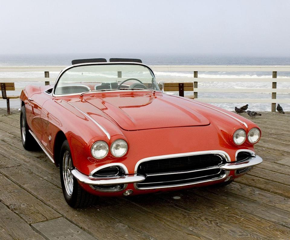 "<p><strong>State Sports Car: Corvette</strong><br><br>The Chevrolet vehicle has been manufactured in Bowling Green since the 1980s, making it the <a href=""https://apps.legislature.ky.gov/record/08rs/7880.html"" rel=""nofollow noopener"" target=""_blank"" data-ylk=""slk:state's official sports car"" class=""link rapid-noclick-resp"">state's official sports car</a>. Also, the state has an official game: Cornhole. </p>"