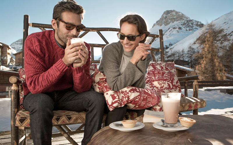On an all-inclusive ski holiday even the hot chocolate's included - Club Med