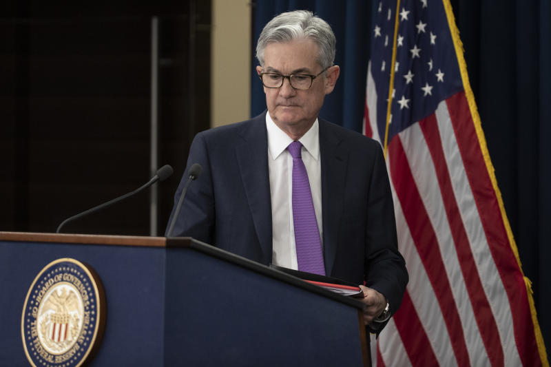 The Latest: Powell wants to see inflation before rate hike