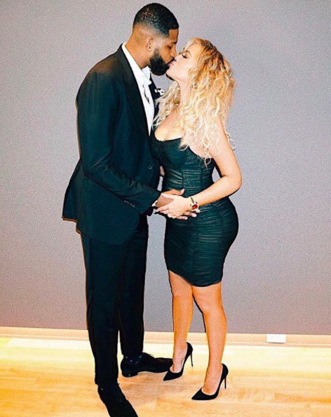 Throughout her pregnancy, Khloé has not been shy in talking about her and Tristan's love. Source: Instagram / khloekardashian