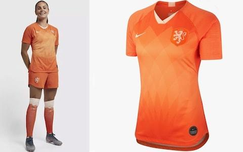 Netherlands home kit, Women's World Cup 2019 - Credit: NIKE