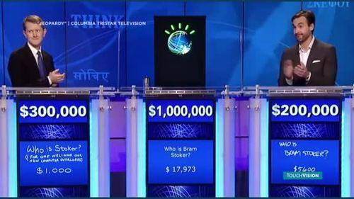 Watson computer on Jeopardy!