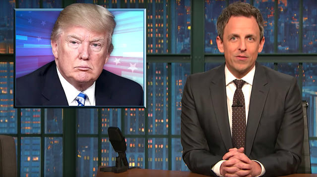 "Seth Meyers took White House Chief of Staff John Kelly to task for suggesting that some undocumented immigrants who hadn't signed up for the Deferred Action for Childhood Arrivals program were ""too lazy."""