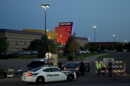 Police outside the theater in Aurora, Colorado, where 12 people were killed on July 20. A graduate student who told police he was the Joker opened fire in a theater showing the premiere of the latest Batman movie