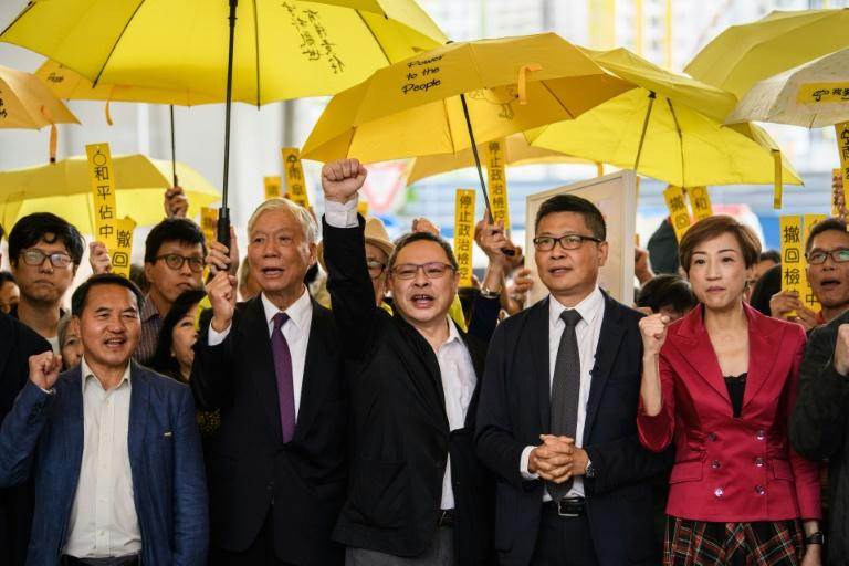 The 'Occupy Central' trio are facing charges based on colonial-era law, and could be jailed for years if found guilty