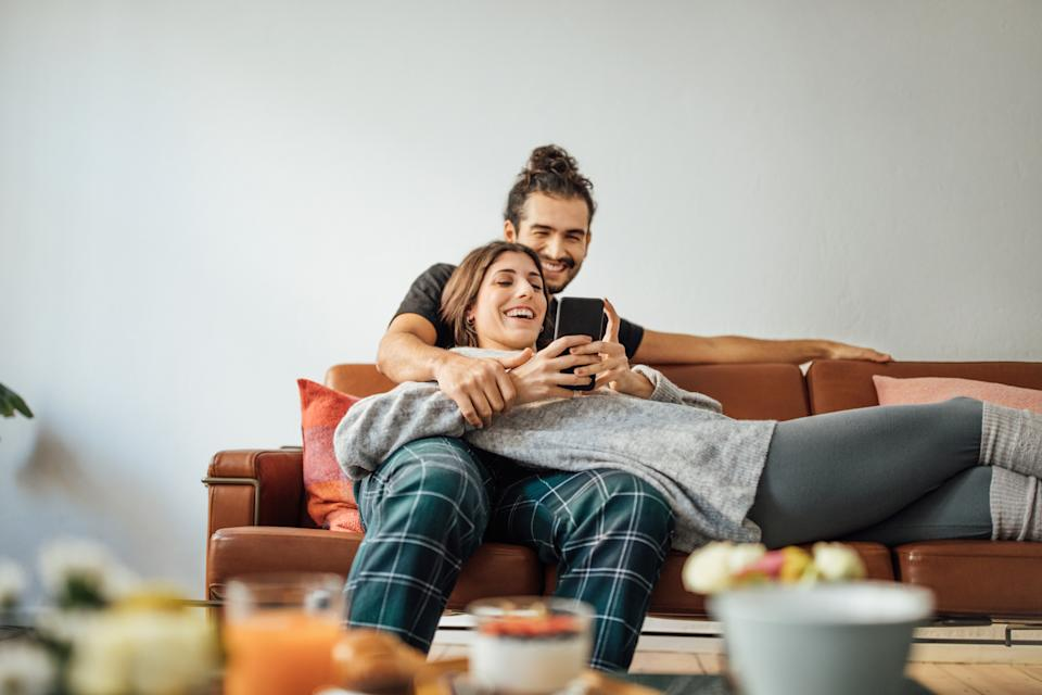 Many couples chose to move in together faster than they would ordinarily. (Getty Images)