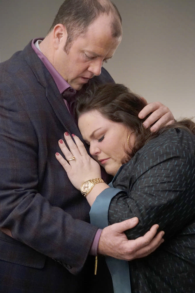 Chris Sullivan as Toby and Chrissy Metz as Kate (Photo by: Paul Drinkwater/NBC)