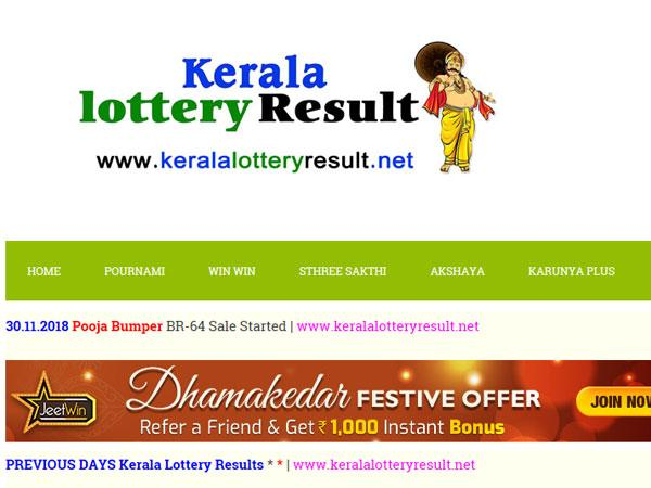 Kerala Lottery Result Today: Pournami RN-367 today lottery