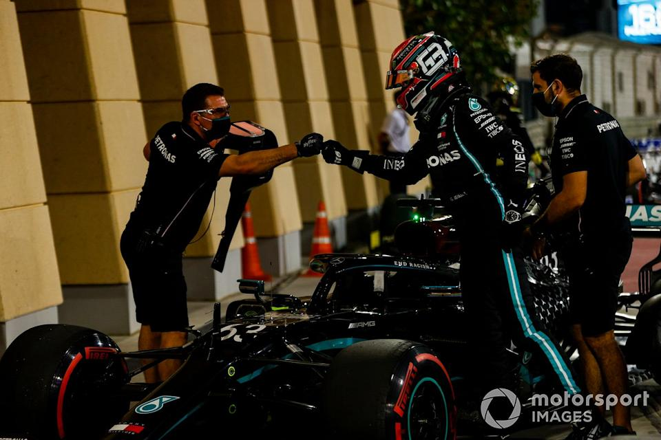 """Segundo puesto George Russell, Mercedes-AMG F1<span class=""""copyright"""">Andy Hone / Motorsport Images</span>"""