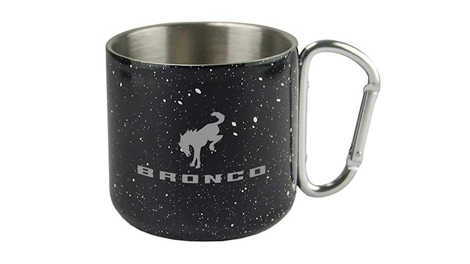 "<p>The Bronco store is filled with ceramic coffee mugs featuring various Bronco-themed designs. We'd have this stainless steel cup over all the rest, if only for the cool carabiner handle.</p>   <ul><li><a href=""https://www.motor1.com/news/431995/watch-2021-ford-bronco-debut-july-13/?utm_campaign=yahoo-feed"" rel=""nofollow noopener"" target=""_blank"" data-ylk=""slk:How To Watch The 2021 Ford Bronco Debut On July 13"" class=""link rapid-noclick-resp"">How To Watch The 2021 Ford Bronco Debut On July 13</a></li><br><li><a href=""https://www.motor1.com/news/432769/2021-ford-bronco-spy-shots-interior/?utm_campaign=yahoo-feed"" rel=""nofollow noopener"" target=""_blank"" data-ylk=""slk:2021 Ford Bronco Spy Shots Reveal Off-Roader's Interior"" class=""link rapid-noclick-resp"">2021 Ford Bronco Spy Shots Reveal Off-Roader's Interior</a></li><br></ul>"