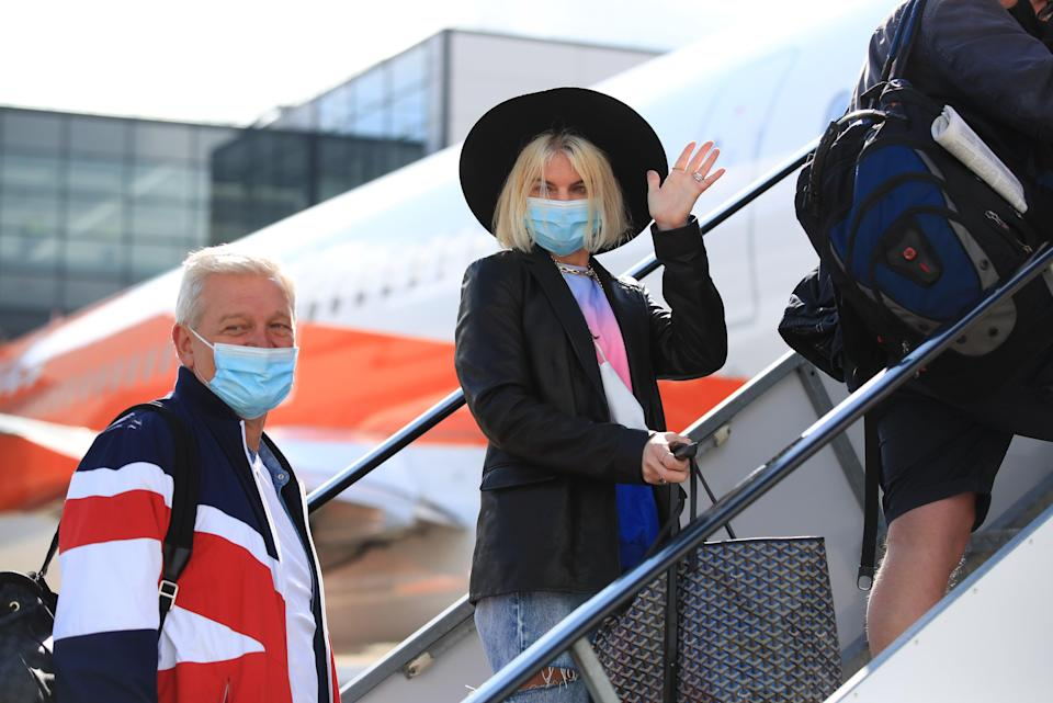 Easyjet and Ryanair to keep face masks on all flights after rule ends (PA Wire)