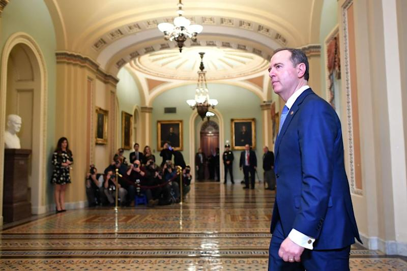 Adam Schiff emerged as a thorn in Trump's side during the impeachment hearings.