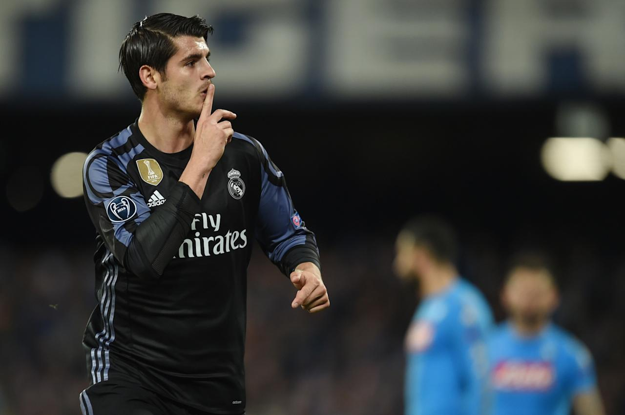 Manchester United and Chelsea on alert as AC Milan emerge as new front runners for Alvaro Morata