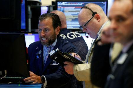 U.S. stock markets regain some ground