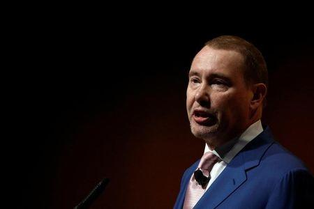 Jeffrey Gundlach, Chief Executive Officer, DoubleLine Capital, speaks at the Sohn Investment Conference in New York