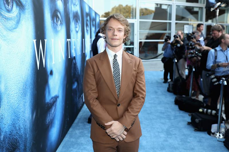 Alfie Allen says he relied on his