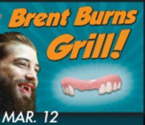 Brent Burns Grill