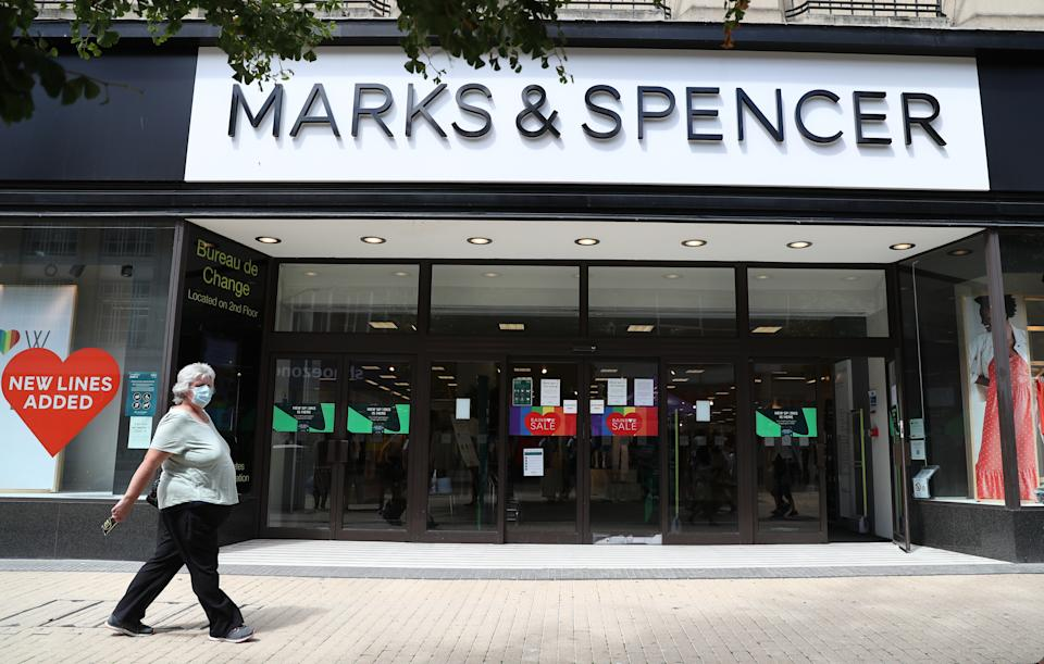 """M&S said it also expects a """"significant"""" number of roles will be cut through voluntary departures."""