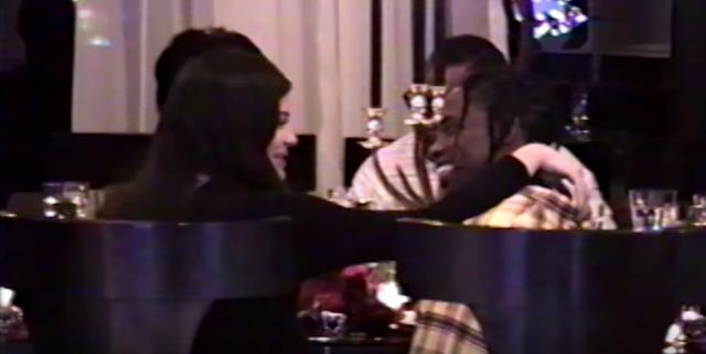 Kylie Jenner and Travis Scott only have eyes for each other. (Photo: YouTube)