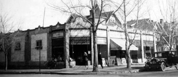 Mah and her family lived in her father's store, which was demolished to make way for city hall.
