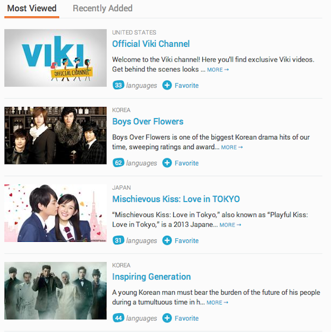 Over 26 million viewers watch videos on Viki monthly, and it