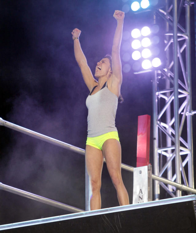'Ninja Warrior' competitor wants to inspire others