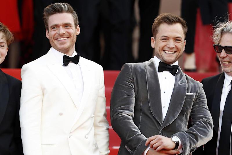 Richard Madden and Taron Egerton at the screening of Rocketman (Getty Images for Paramount Pictu)