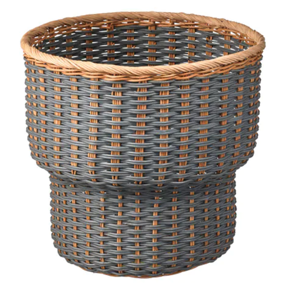 """<p>Leaving this STENBÄR basket plant pot as is would be cute, sure, but when you can add a little something special to make it unique, it's worth doing so!</p><p><strong><a class=""""link rapid-noclick-resp"""" href=""""https://go.redirectingat.com?id=74968X1596630&url=https%3A%2F%2Fwww.ikea.com%2Fus%2Fen%2Fcatalog%2Fproducts%2F00343244%2F%3Fquery%3DSTENBAR&sref=https%3A%2F%2Fwww.bestproducts.com%2Fhome%2Fg29514474%2Fbest-ikea-hacks%2F"""" rel=""""nofollow noopener"""" target=""""_blank"""" data-ylk=""""slk:BUY NOW"""">BUY NOW</a> <em>STENBÄR Basket, </em></strong><em><strong>$30, ikea.com</strong></em></p>"""