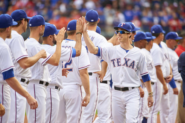 Tim Lincecum finally made his 2018 debut for the Rangers' Triple-A team. (Getty Images)