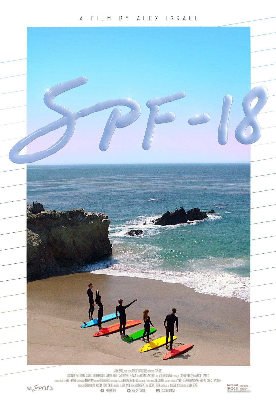 """<p>A coming-of-age romance flick, <strong>SPF-18</strong> is filled with all the young love and Noah Centineo you could want. It tells the story of four teens whose lives get engaged and changed in ways they never saw coming.</p> <p>Watch <a href=""""https://www.netflix.com/title/80192097"""" class=""""link rapid-noclick-resp"""" rel=""""nofollow noopener"""" target=""""_blank"""" data-ylk=""""slk:SPF-18""""><strong>SPF-18</strong></a> on Netflix now.</p>"""
