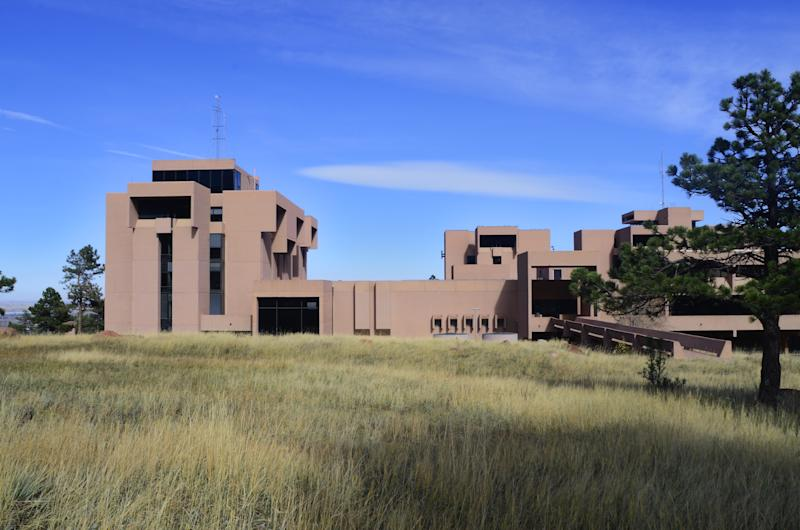 The U.S. National Center for Atmospheric Research, located in Boulder, Colorado, was designed by I.M. Pei in 1967.